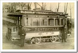 Streetcar, Boston 1909